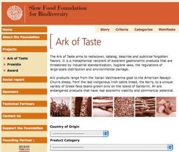Ark of Taste: ¿Sabías que hay alimentos en peligro de extinción?