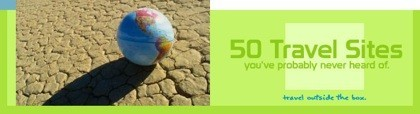 50 sitios web sobre viajes (en inglés)