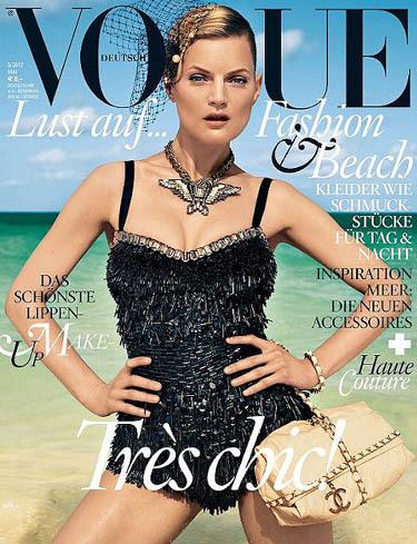 Guinevere van Seenus nos lleva a la playa con Vogue Alemania