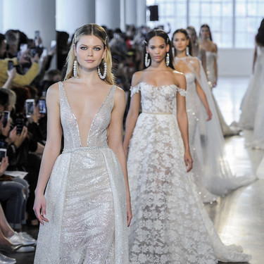 Futuras novias con estilo: estas son las tendencias vistas en la NYFW Bridal Week