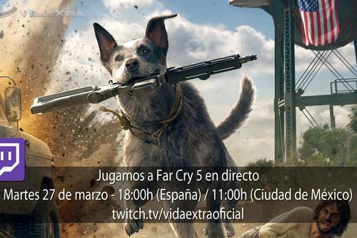 Streaming de Far Cry 5 a las 18:00h (las 11:00h en CDMX) [Finalizado]