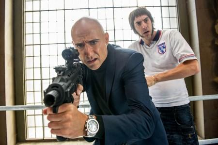 Mark Strong Sacha Baron Cohen Agente Contrainteligente