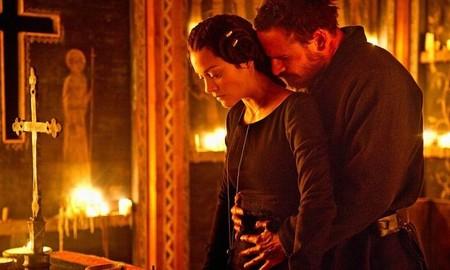 Marion Cotillard y Fassbender en Macbeth