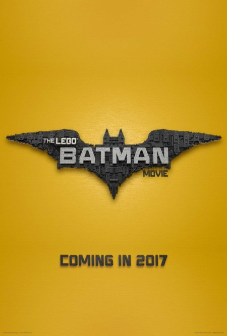 Teaser póster de The Lego Batman Movie