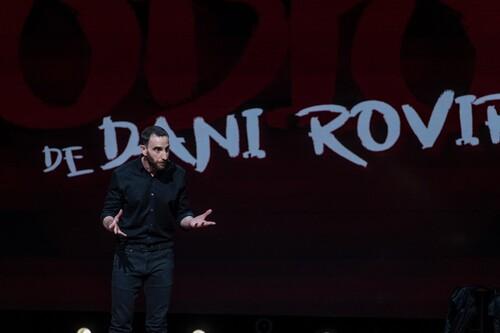 'Odio, de Dani Rovira': Netflix devuelve al escenario al cómico español con un divertido y extenso monólogo, sin filtros y con mucho corazón