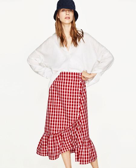 Una falda capaz de animar cualquier look