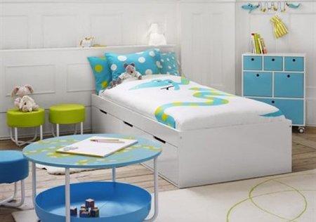 Dormitorios infantiles de estilo n rdico for Dormitorio infantil nordico