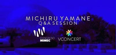 Michiru Yamane estará presente en el Congreso MIMEC en Monterrey