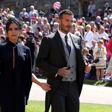 Boda del príncipe Harry y Meghan Markle: Coleta y extensiones, las claves del look de Victoria Beckham