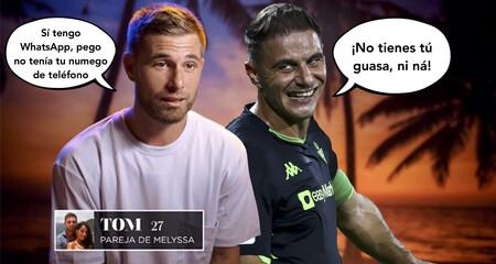 Tom Brusse imita e invita a Joaquín del Betis a un reto de fútbol junto al youtuber Jesús Rincón, alias Delantero09