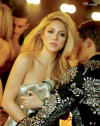 Shakira para Vanity Fair