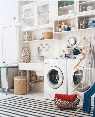 Ideas para crear tu lavandería en casa