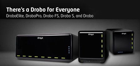 Drobo, productos de almacenamiento para todas las necesidades