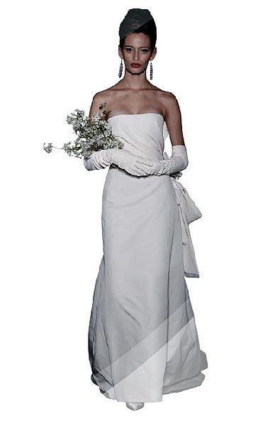Colección de vestidos de novia Carolina Herrera Primavera 2010