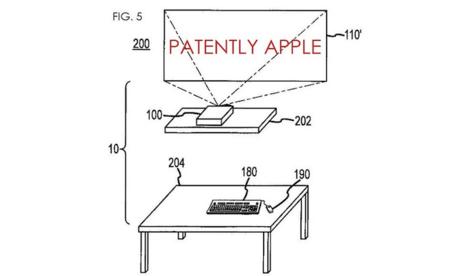 Los futuros Macs podrían pasar del monitor y proyectarlo todo en la pared