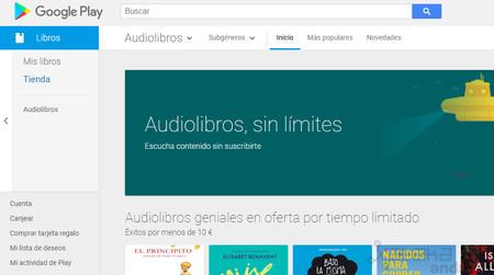 Los audiolibros llegan a Google Play: 45 países y 9 idiomas
