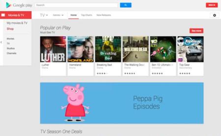 Google Play ya vende programas de televisión en Reino Unido