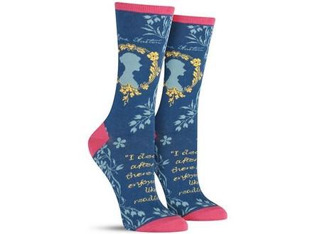 calcetines amantes libros