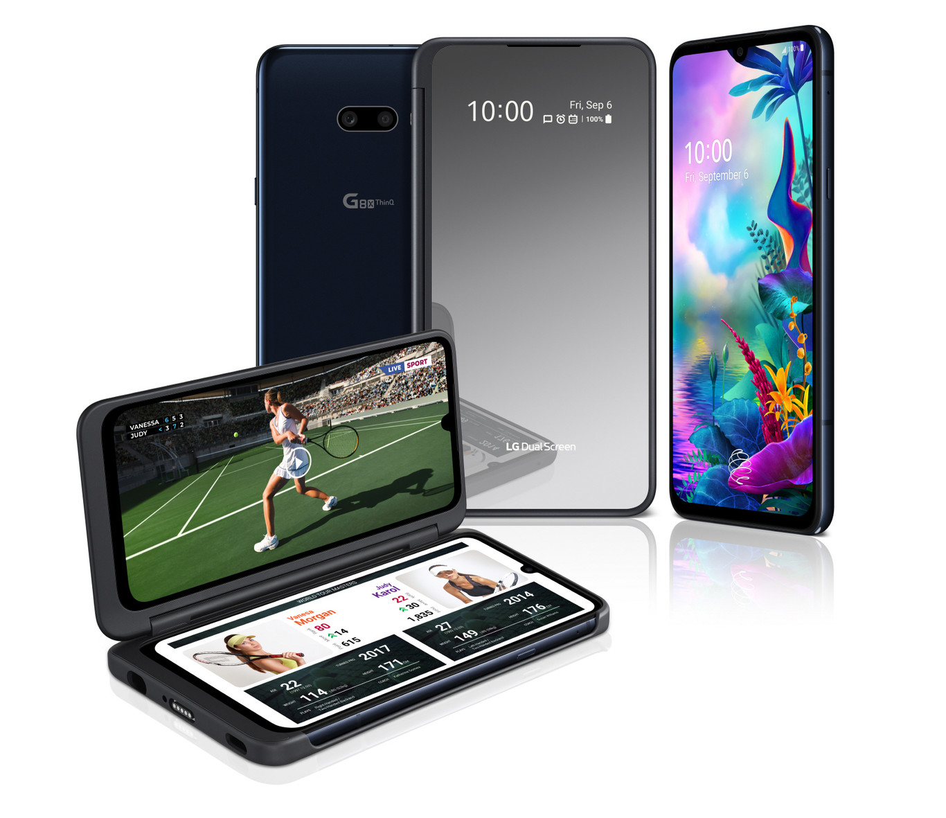 LG G8X ThinQ + nueva Smart Screen - 6 GB RAM + 128 GB