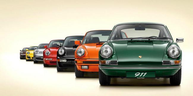 Siete generaciones Porsche 911