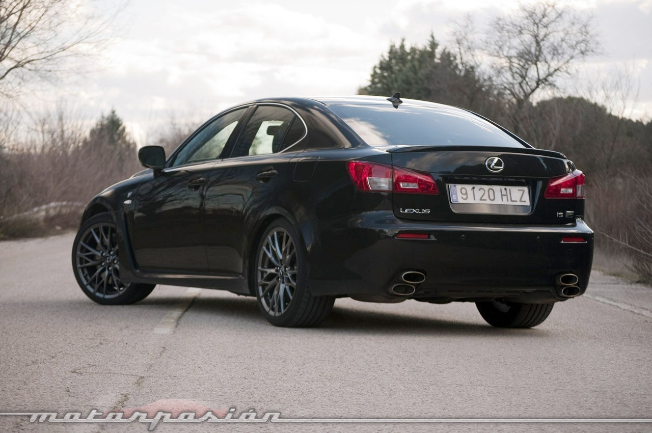 Lexus IS F (prueba)