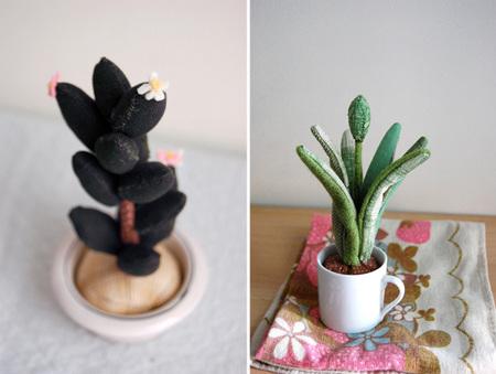 ¿Se te mueren hasta los cactus? Lo tuyo son estas plantas de peluche