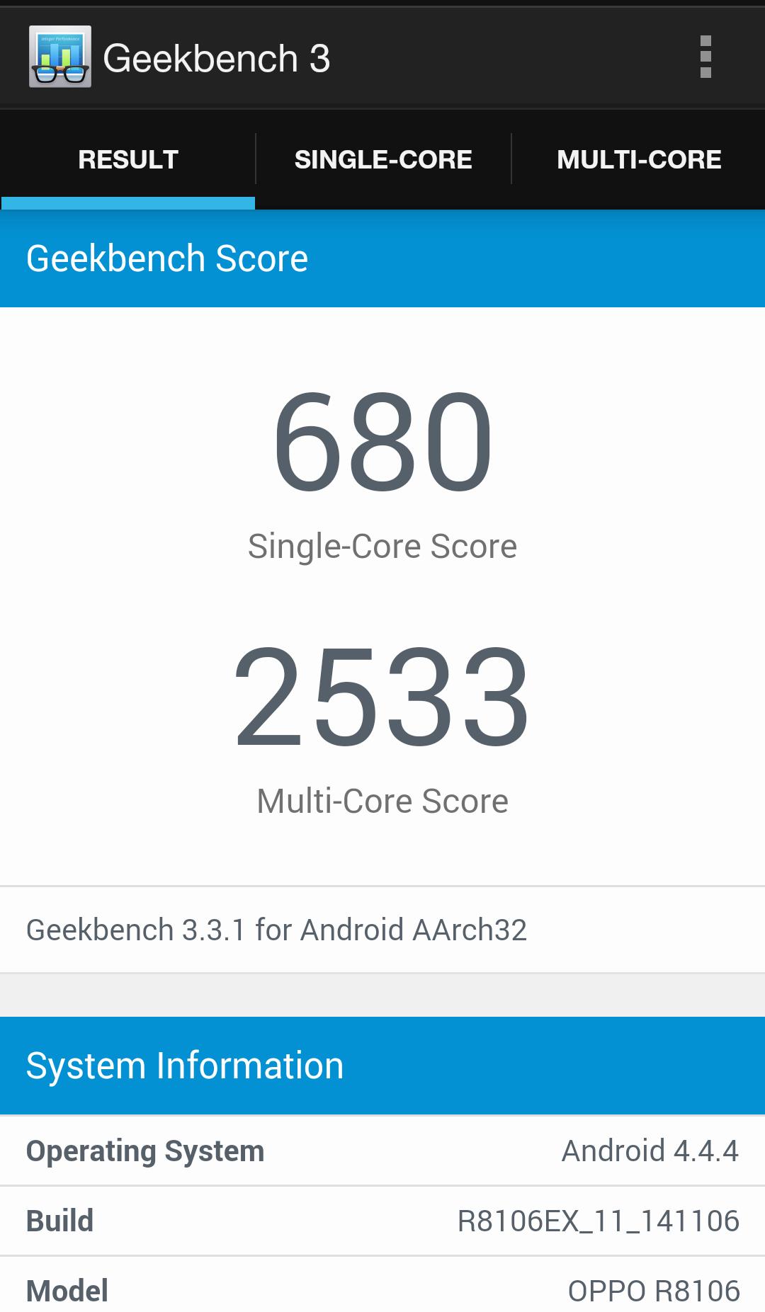 Foto de Oppo R5 benchmarks (9/11)