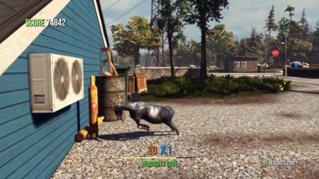 Goat Simulator ya va de camino a PS3 y PS4 con su alocado sistema de juego