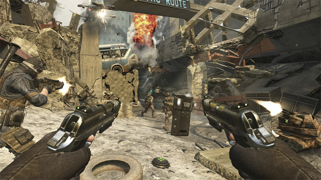 Black Ops II multiplayer