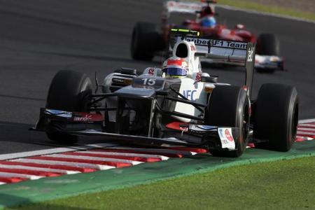 Sergio Pérez partirá desde el quinto lugar