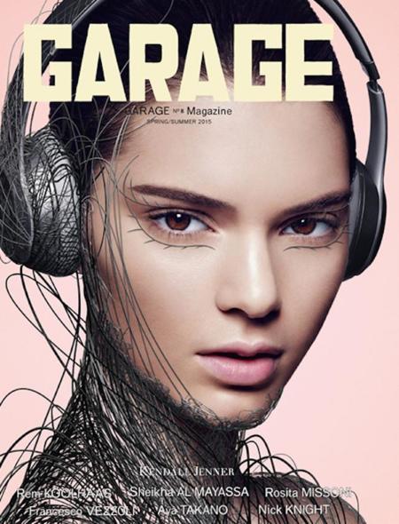 ¡Suma y sigue Kendall (& Cía)! Ahora, portada de Garage Magazine