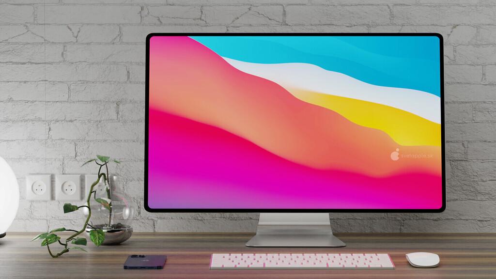 El iMac 2021 tendrá una pantalla