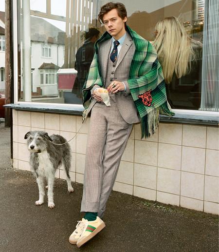 Harry Styles Para La Campana Men S Tailoring Otono Invierno 18 2
