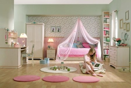 camas-dosel15-Cool-Ideas-for-pink-girls-bedroom