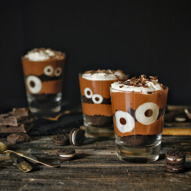 Vasitos de mousse de chocolate y galletas Oreo para Halloween: receta con y sin Magimix Cook Expert