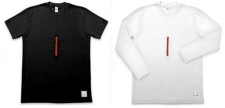 BlackCoat-T, camisetas con bolsillos para los gadgets