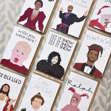 Estas Navidades marca la diferencia y felicita las fiestas con una de estas postales (¡lo vas a petar!)
