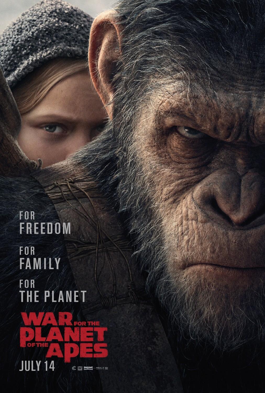 Foto de Carteles de 'La guerra del planeta de los simios' (1/6)