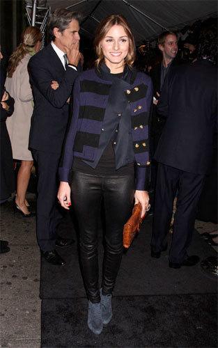El look de Olivia Palermo en los premios GQ