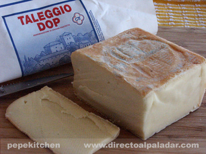 El Taleggio, cata de queso italiano