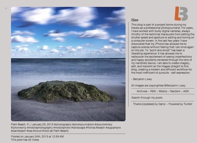 Tumblr proyecto fotografico