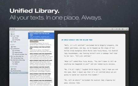 Ulysses III: el procesador de texto para escritores se pone al día