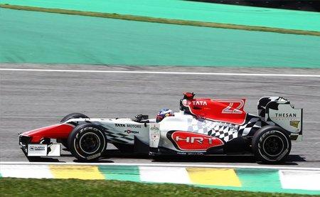 GP de Brasil F1 2011: los dos HRT superan a los dos Virgin en la última clasificación del año