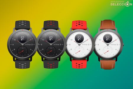 El smartwatch híbrido GPS y VO2 Withings Steel HR sigue bajando de precio y alcanza nuevo mínimo en Amazon de 97,90 euros