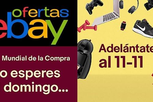 eBay sigue preparándonos para el 11 del 11 con sus mejores ofertas de la semana