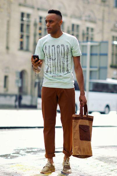 Guy Vernes Primavera-Verano 2012, y su lookbook a modo de estilo de calle