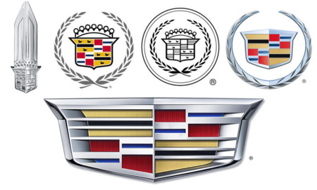 Cadillac Logo 19970 1980 1990 2000 2014