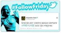 #FollowFriday de Poprosa: Multifotos y famosos solidarios
