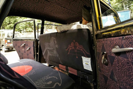 Taxi Fabric Mumbai India 11