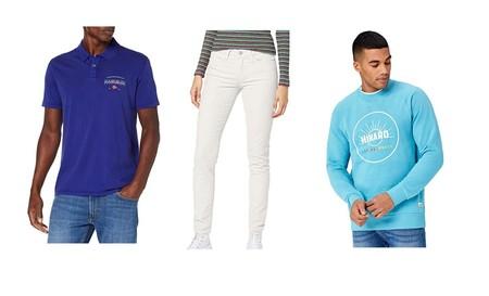 Chollos en tallas sueltas de pantalones, abrigos y camisetas de marcas como Levi's, Napapijri o Lee en Amazon por menos de 30 euros